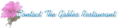 Contact The Gables Title Pic